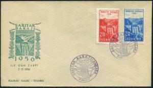 2 Aralık 1956 - Sarıyar Barajının Açılışı