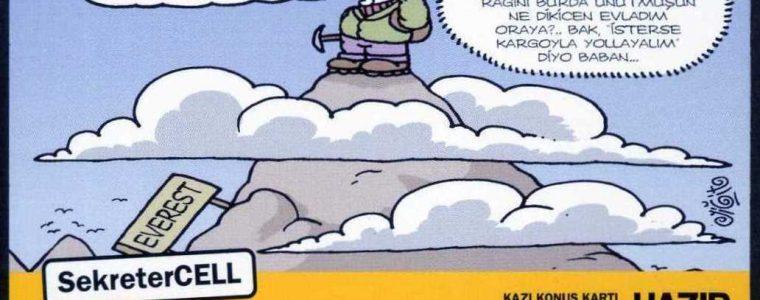 Turkcell 100 Kontör Karikatürler 2. Seri (8 Kart)