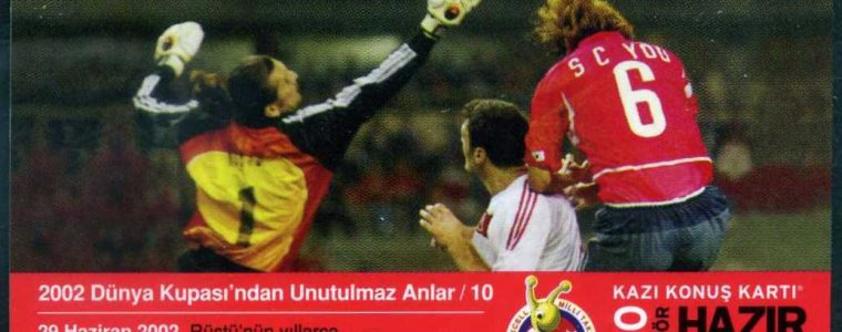 Turkcell 2002 Dünya Kupası – 250 Kontör Hazır Kart (84 Kart)