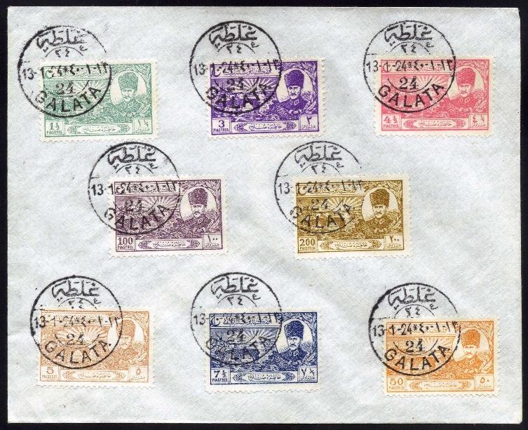 1924 Sulh Serisi Galata