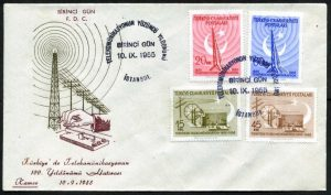 10 Eylül 1955 - Türkiye'de Telekomünikasyonun 100'üncü Yıldönümü