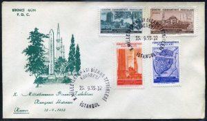 15 Eylül 1955 - X. Milletlerarası Bizans Tetkikleri Kongresi