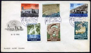 10 Aralık 1955 - Antalya Turistik Hatıra Serisi