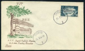 31 Temmuz 1956 - PTT Sağlık Teşkilâtı