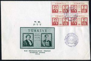 15 Mayıs 1956 - İran Hükümdarlarının Türkiye'yi Ziyaretleri