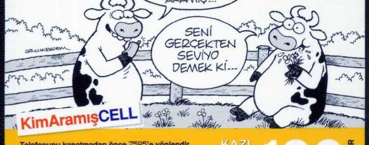 Turkcell 100 Kontör Karikatürler 1. Seri (101 Kart)