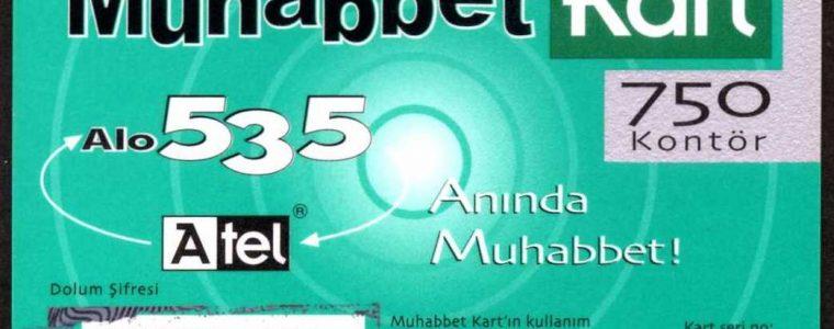Turkcell Muhabbet Kart 1. Emisyon (A-tel)