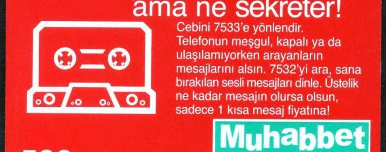 Turkcell Muhabbet Kart 3. Emisyon