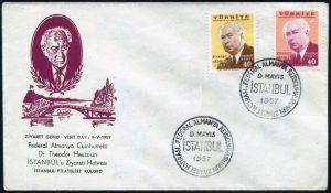 05 Mayıs 1957 – Federal Alman Reisicumhurunun Türkiye'yi Ziyareti