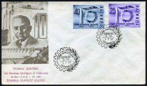 01 Temmuz 1957 – Türk-Amerikan İşbirliğinin X. yılı