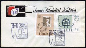 06 Temmuz 1957 – Güzel Sanatlar Akademisinin 75. Yılı