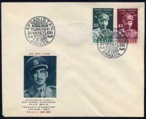 01 Eylül 1957 – Afganistan Kralının Türkiye'yi Ziyaretleri