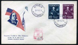 28 Kasım 1957 – Benjamin Franklin'in 250'inci Doğum Yılı