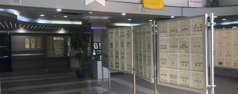 PTT Pul Müzesi Serigisi Manisa'da